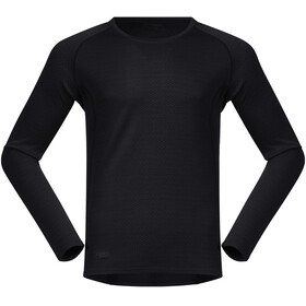Bergans Snøull LS Tee Men black/solid charcoal